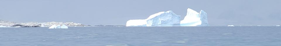 Iceberg off Palmer Station in Antarctica